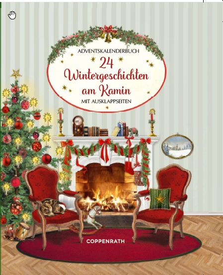 24 Wintergeschichten am Kamin